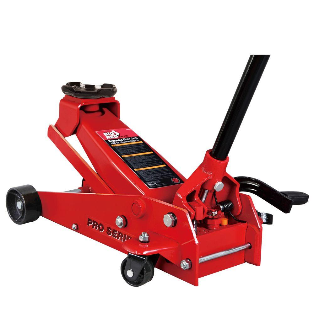 NEW Craftsman 4 Ton Low Profile High Lift Service Floor Jack Steel Casters Car