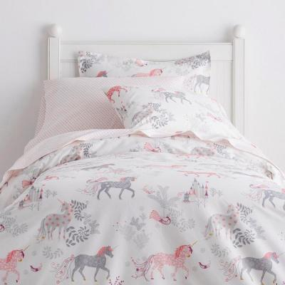 Enchanted Unicorn 200-Thread Count Cotton Percale Duvet Cover