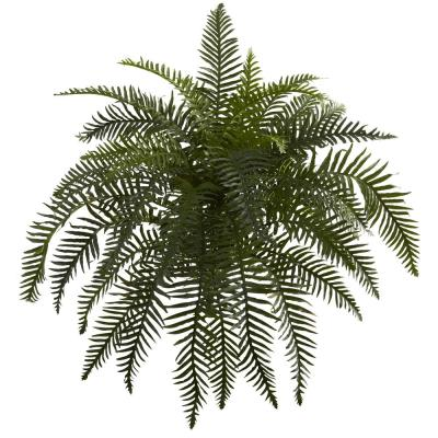 Indoor 26 in. River Fern Artificial Plant (2-Set)