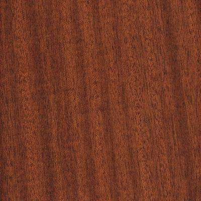 Take Home Sample - Matte Bailey Mahogany Click Lock Hardwood Flooring - 5 in. x 7 in.