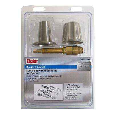 Gerber Shower Valve Rebuild Kit in Brush Nickel