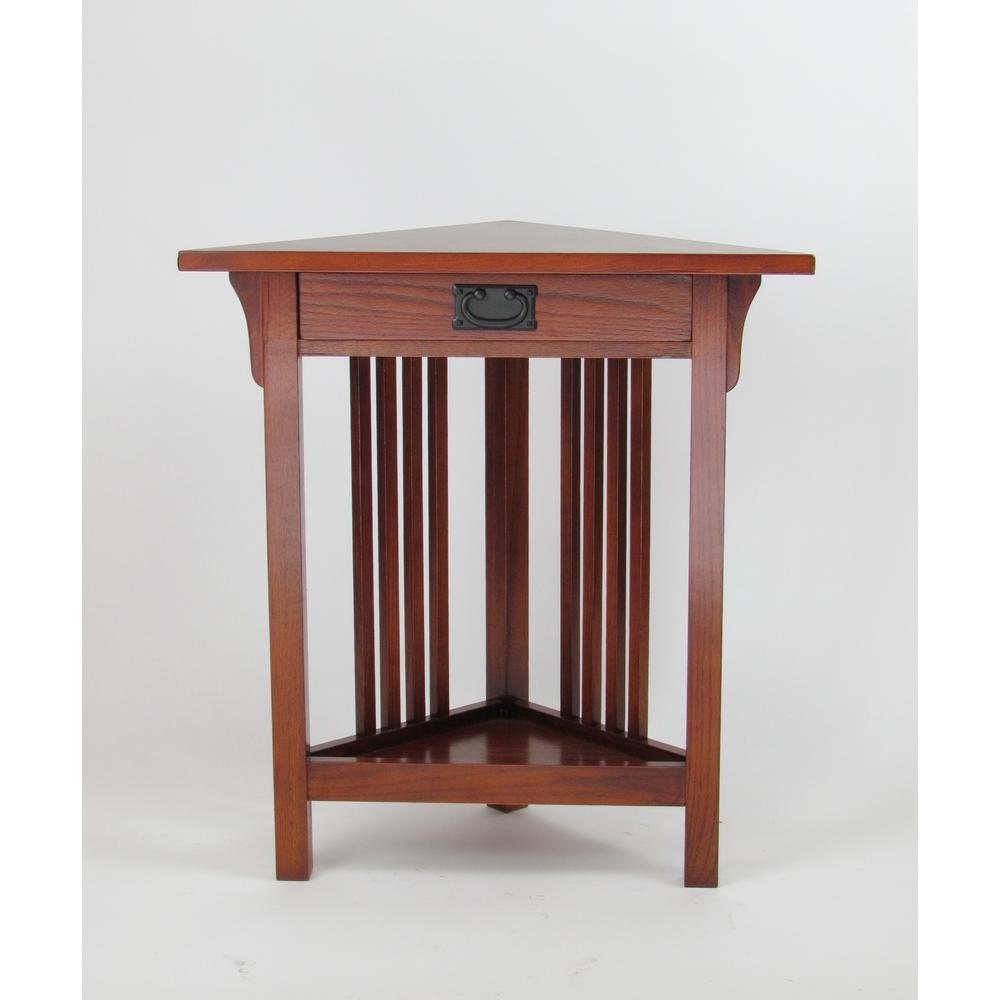 Wayborn Oak (Brown) Corner Table