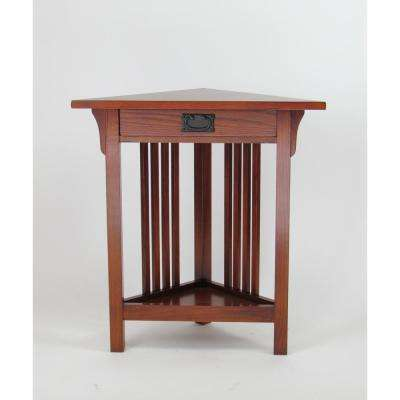 Oak Corner Table