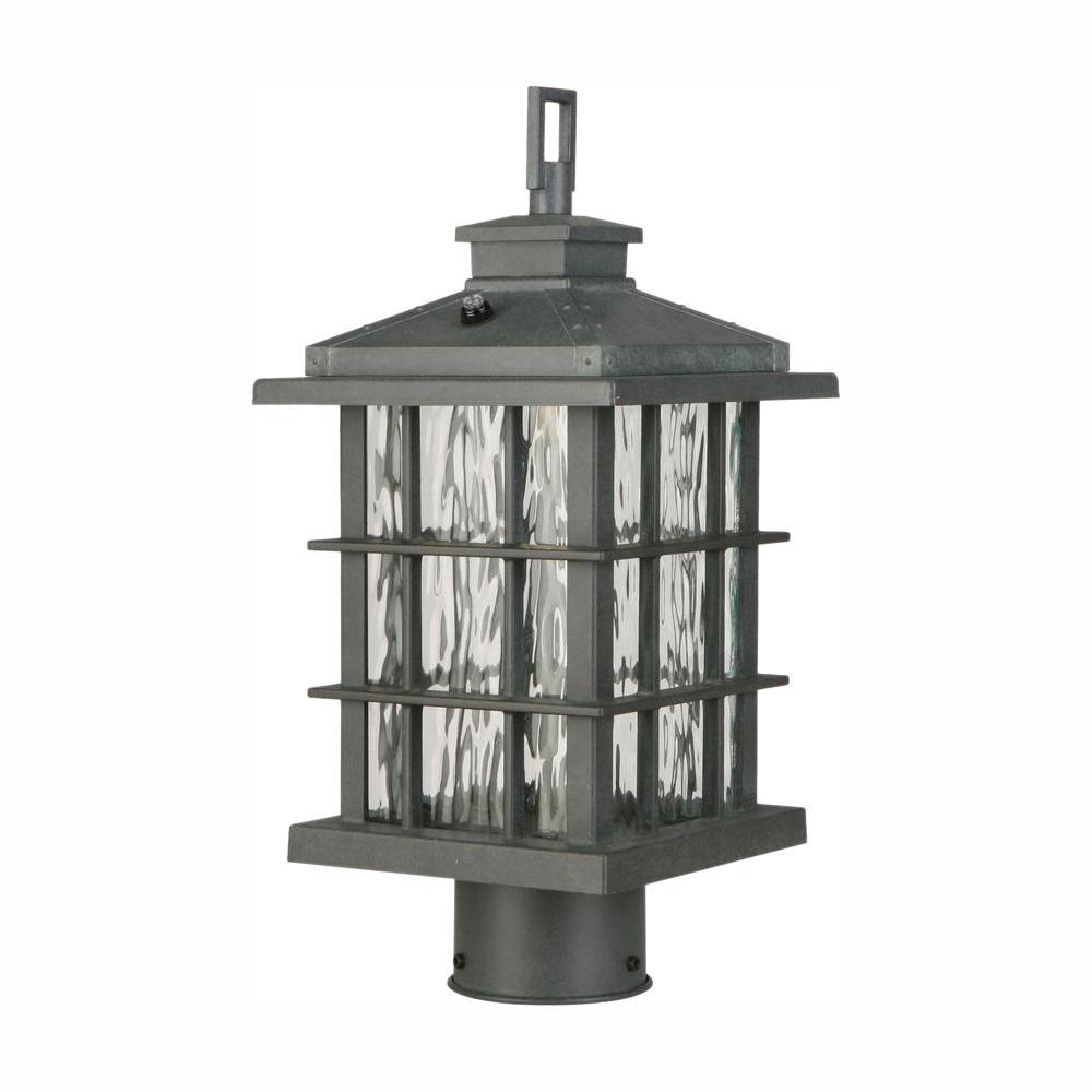 Summit Ridge Collection Zinc Outdoor Integrated LED Post Light