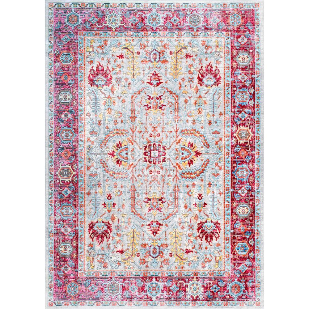 Vintage Persian Edra Blush 8 ft. x 11 ft. Area Rug