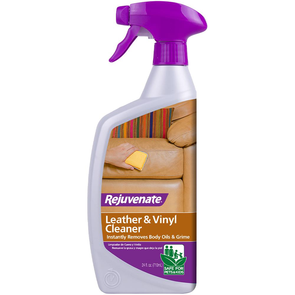 Rejuvenate 24 oz. Leather and Vinyl Cleaner