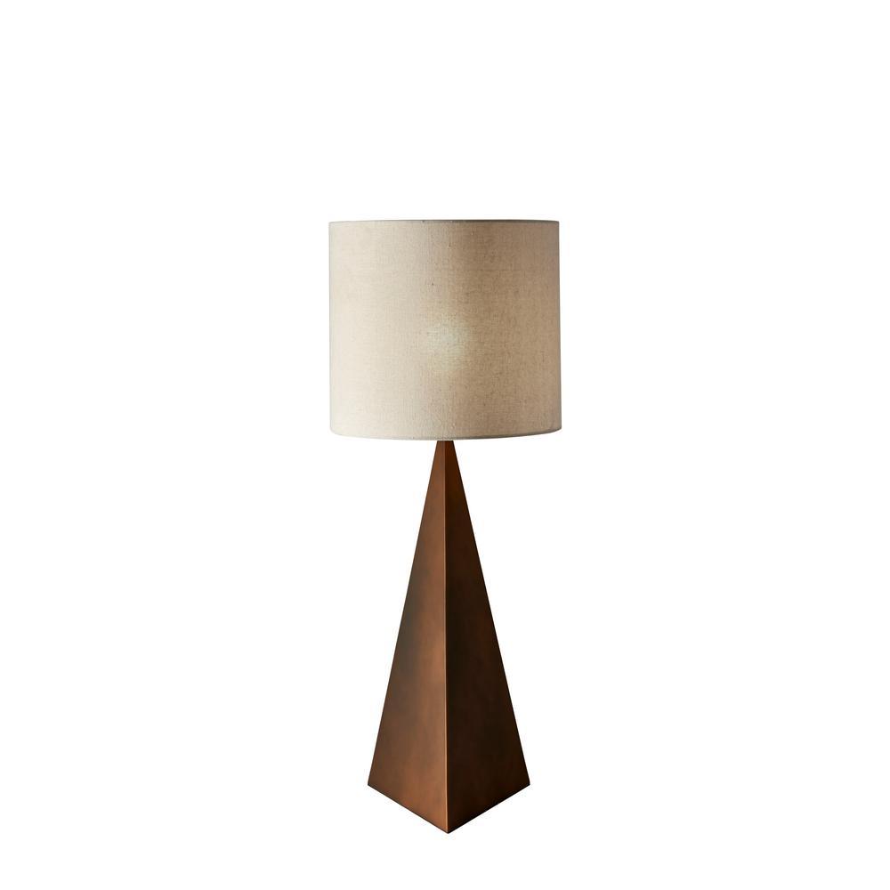 Cairo 34.5 in. Bronze Table Lamp