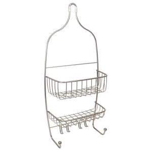 Raphael Shower Caddy in Satin Nickel by