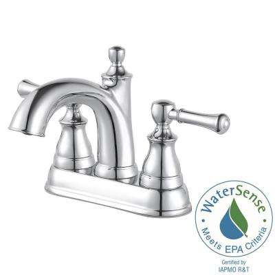 Autry 4 in. Centerset Single Handle Bathroom Faucet in Polished Chrome