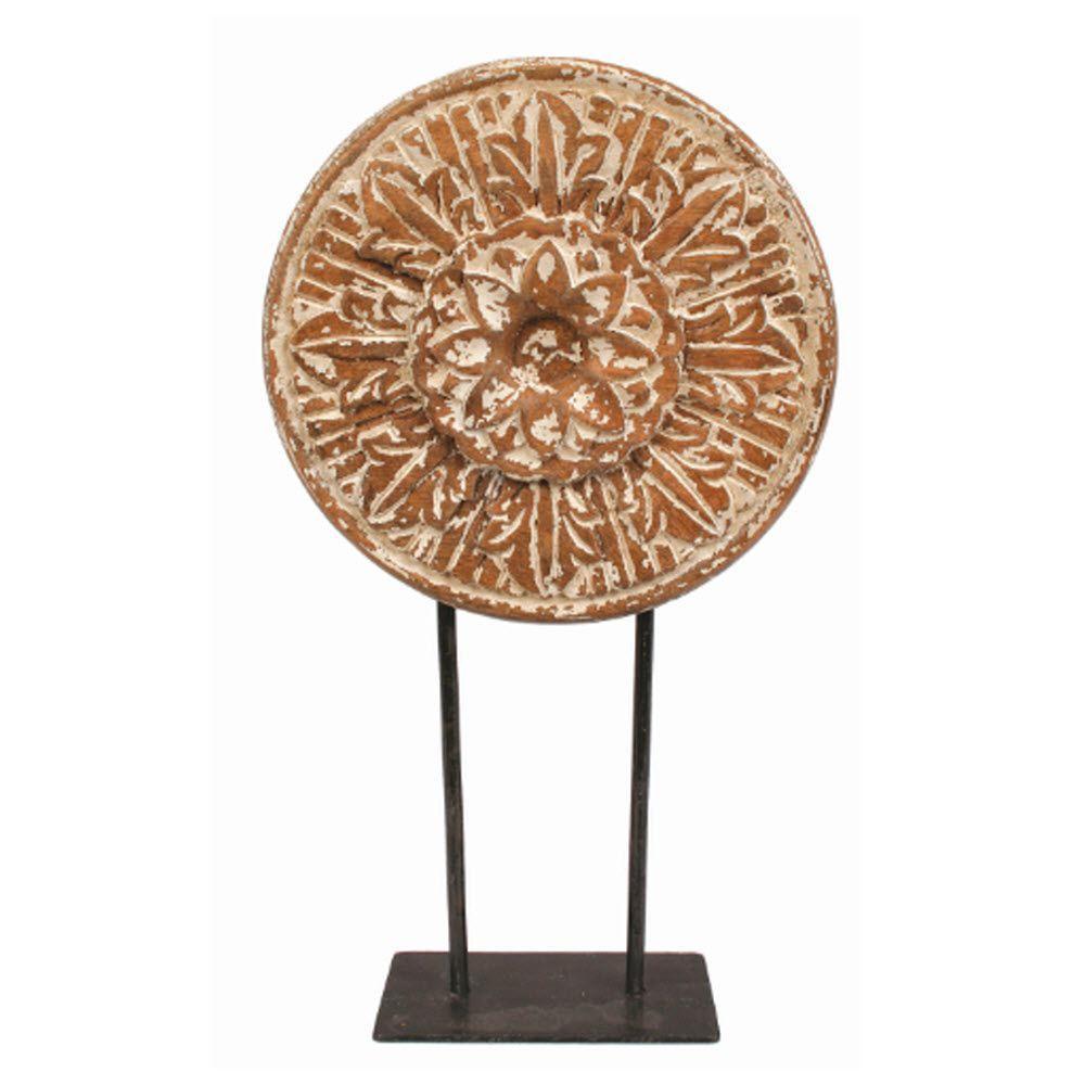 Home Decorators Collection Chennai Medium Wood Medallion