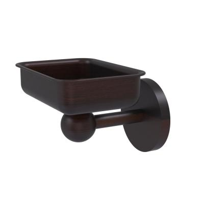 Skyline Collection Wall Mounted Soap Dish in Venetian Bronze
