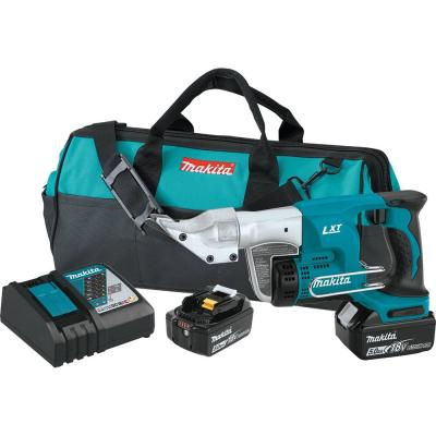 18-Volt LXT 5.0Ah Lithium-Ion Cordless 18-Gauge Straight Shear Kit