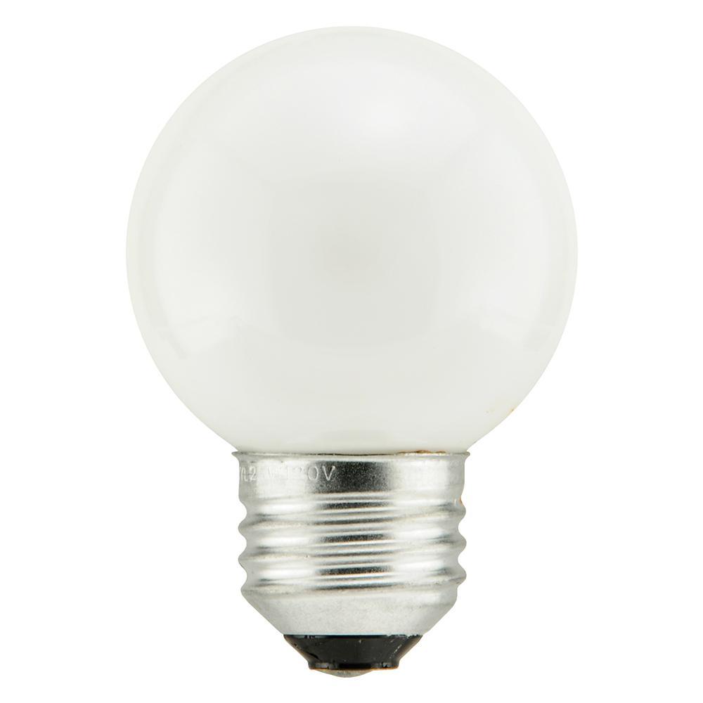 40-Watt Double Life G16.5 Incandescent Light Bulb (2-Pack)