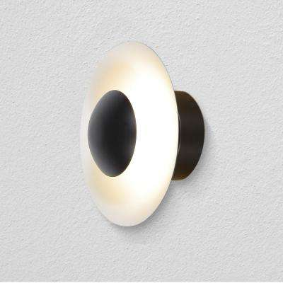 Rimini 10.25 in. Black LED Sconce
