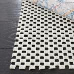 Grid White 6 ft. x 6 ft. Non-Slip Rug Pad
