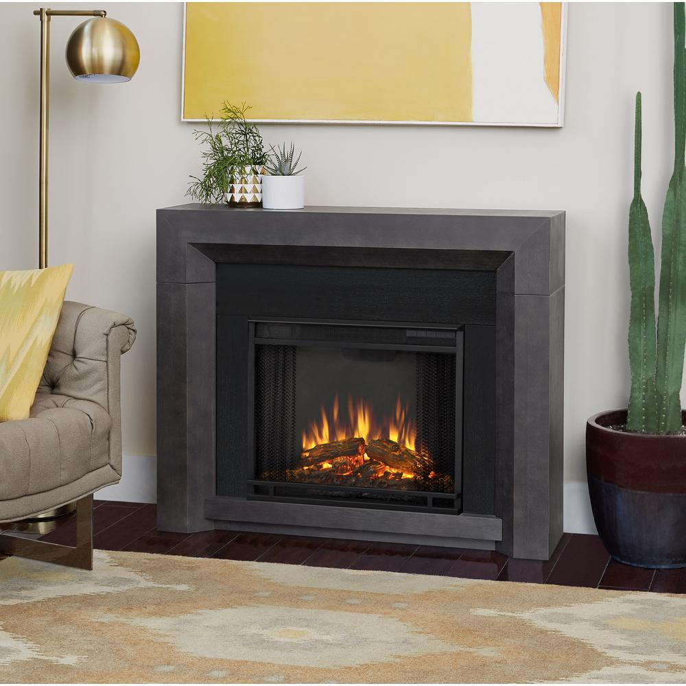 Design Fireplace Pictures real flame hughes 42 in electric fireplace gray 3001e gry gray