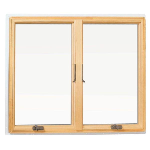Andersen 48 In X 400 Series Casement Wood Window With White Exterior 9117172 The Home Depot
