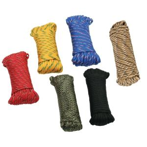 1/8 in. x 50 ft. Paracord, Assorted Colors