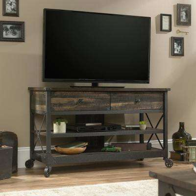 Steel River Carbon Oak TV Stand