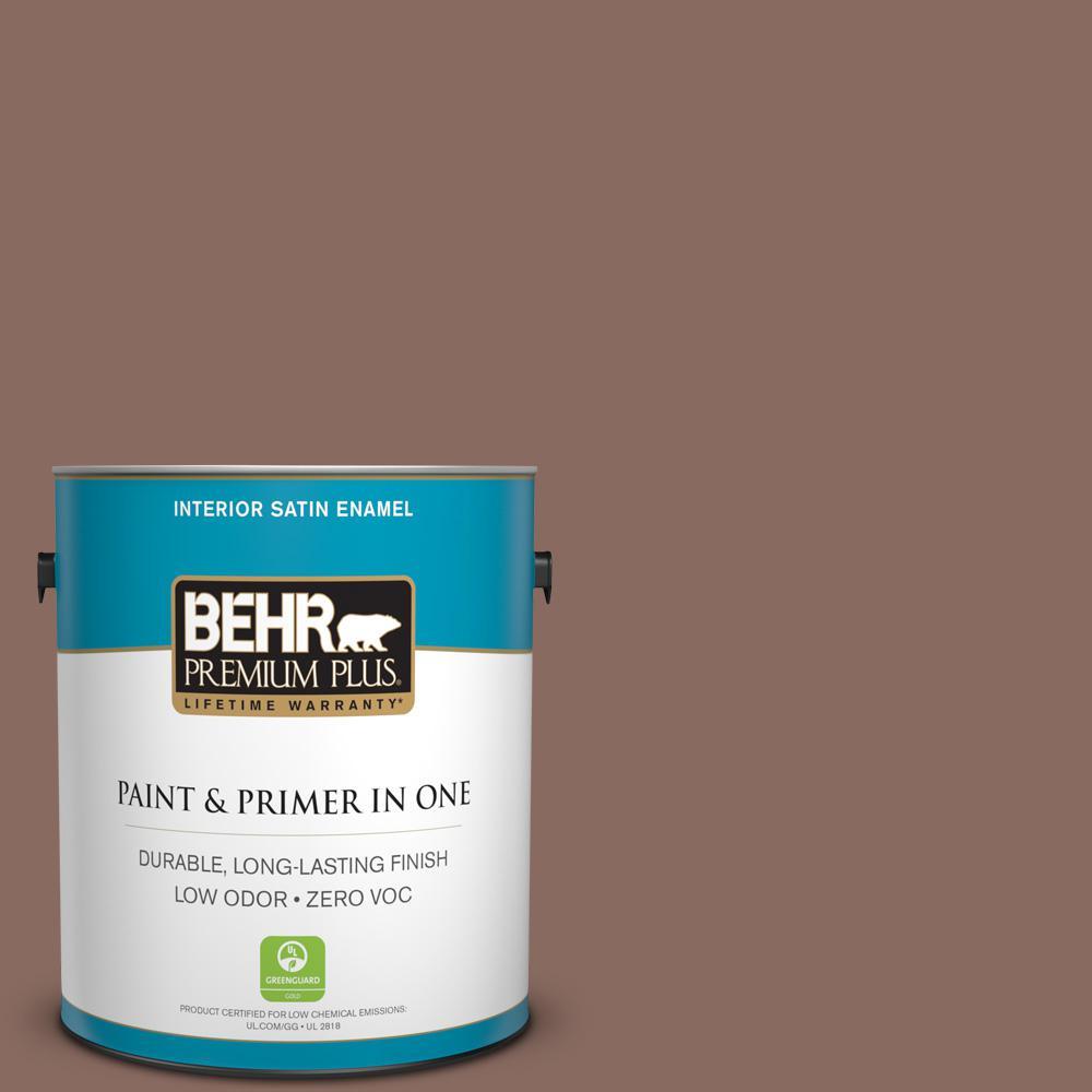 1-gal. #N150-5 French Truffle Satin Enamel Interior Paint