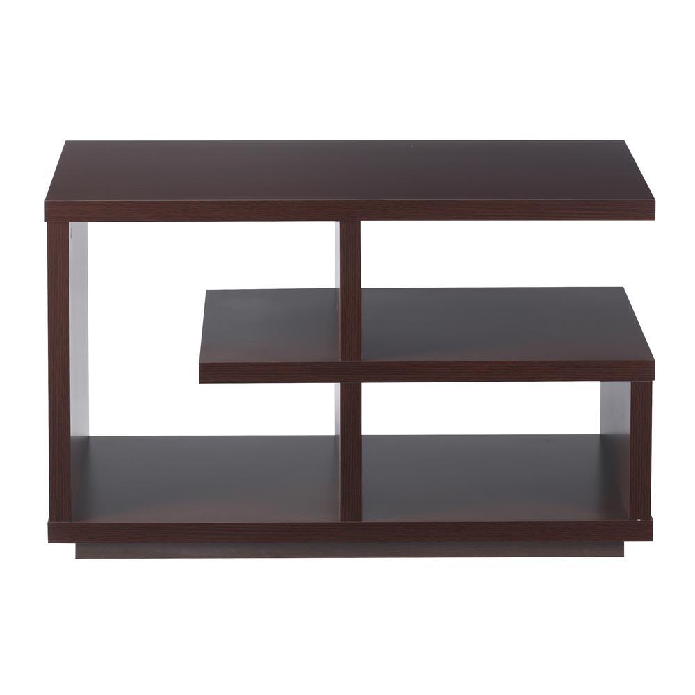 Elsie Walnut Side Table