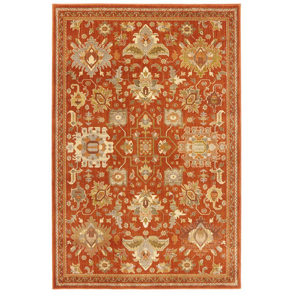 grayson red  ft  in x  ft  in. rectangle   x   area rugs  rugs  the home depot