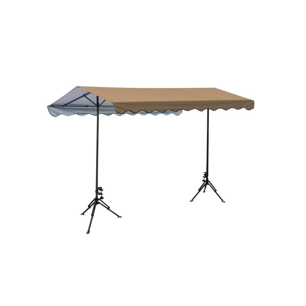 ShelterLogic Quick Clamp 7 ft 4 in x 10 ft Outdoor Shade Canopy-DISCONTINUED