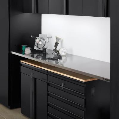 Heavy Duty 7 ft. Stainless Steel Work Surface
