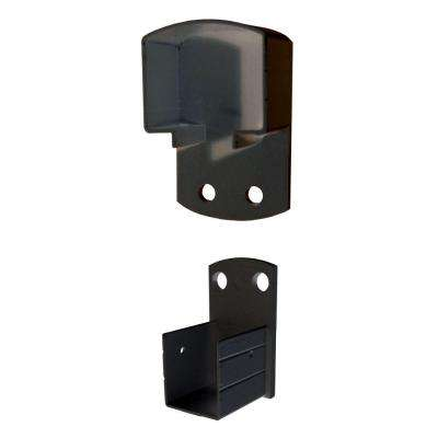 Black Aluminum Wall Mount Bracket