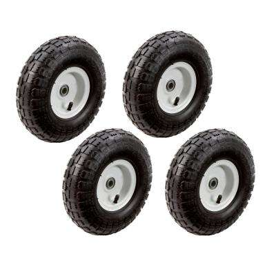 10 in. Pneumatic Tire (4-Pack)