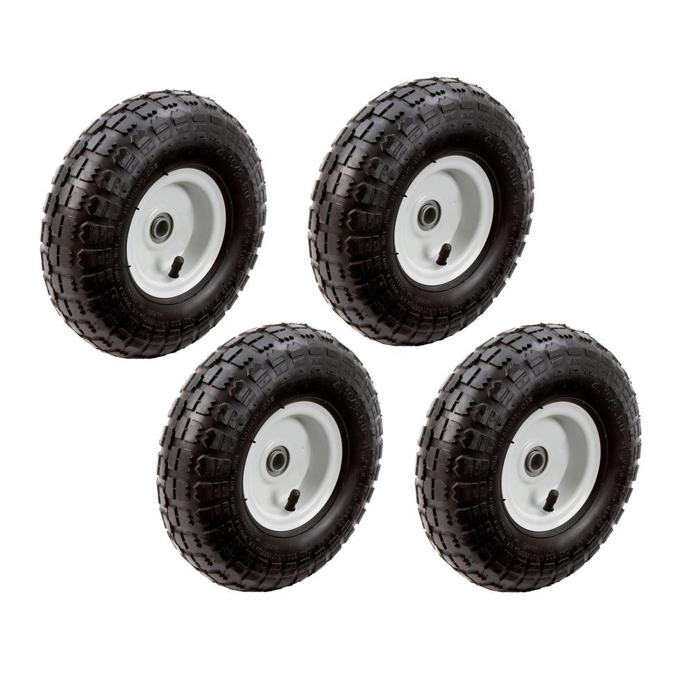 10 in. Pneumatic Tire (4-Pack)
