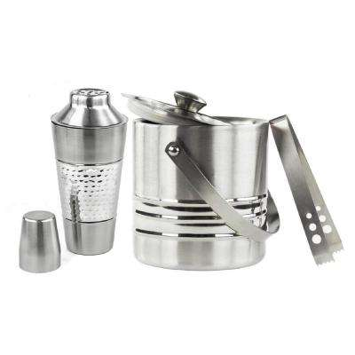 Stainless Steel Cocktail Shaker and Bucket