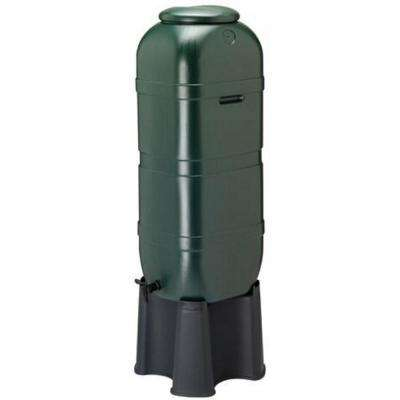 26 Gal. Slim Rain Barrel with Stand