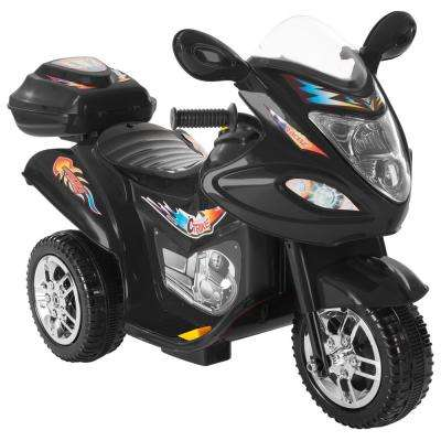 Battery Operated Trike Motorcycle Ride On Toy Black