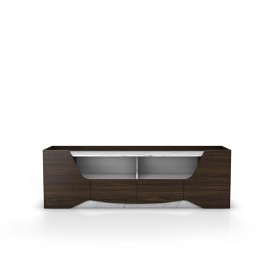Livie 71 in. Wenge MDF TV Stand with 2 Storage Drawers Fits Up to 80 in. TV