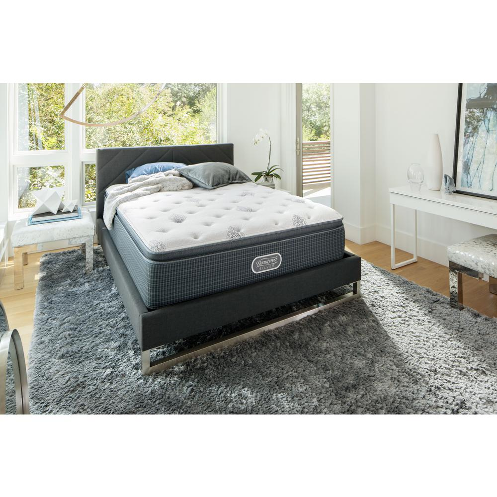 Beautyrest Silver River View Harbor Twin Xl Extra Firm Low Profile Mattress Set 700753235 9820