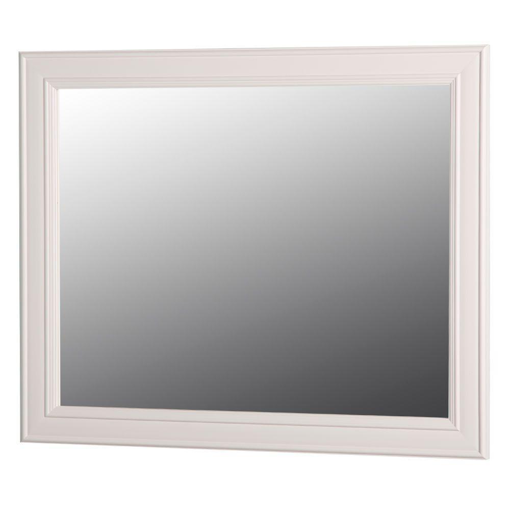 H Wall Mirror In Cream