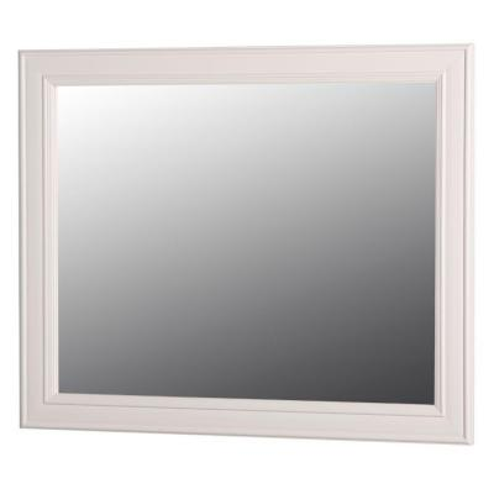 Annakin 31 in. W x 26 in. H Wall Mirror in Cream