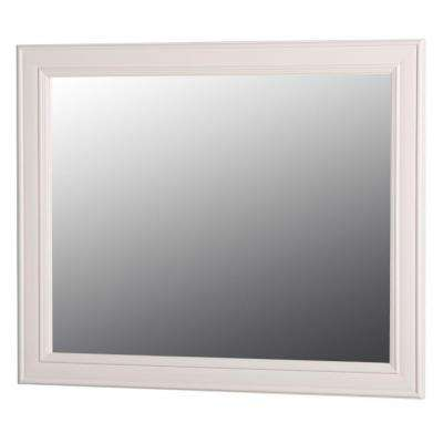 Annakin 31 in. W x 26 in. H Wall Mirror in Cream