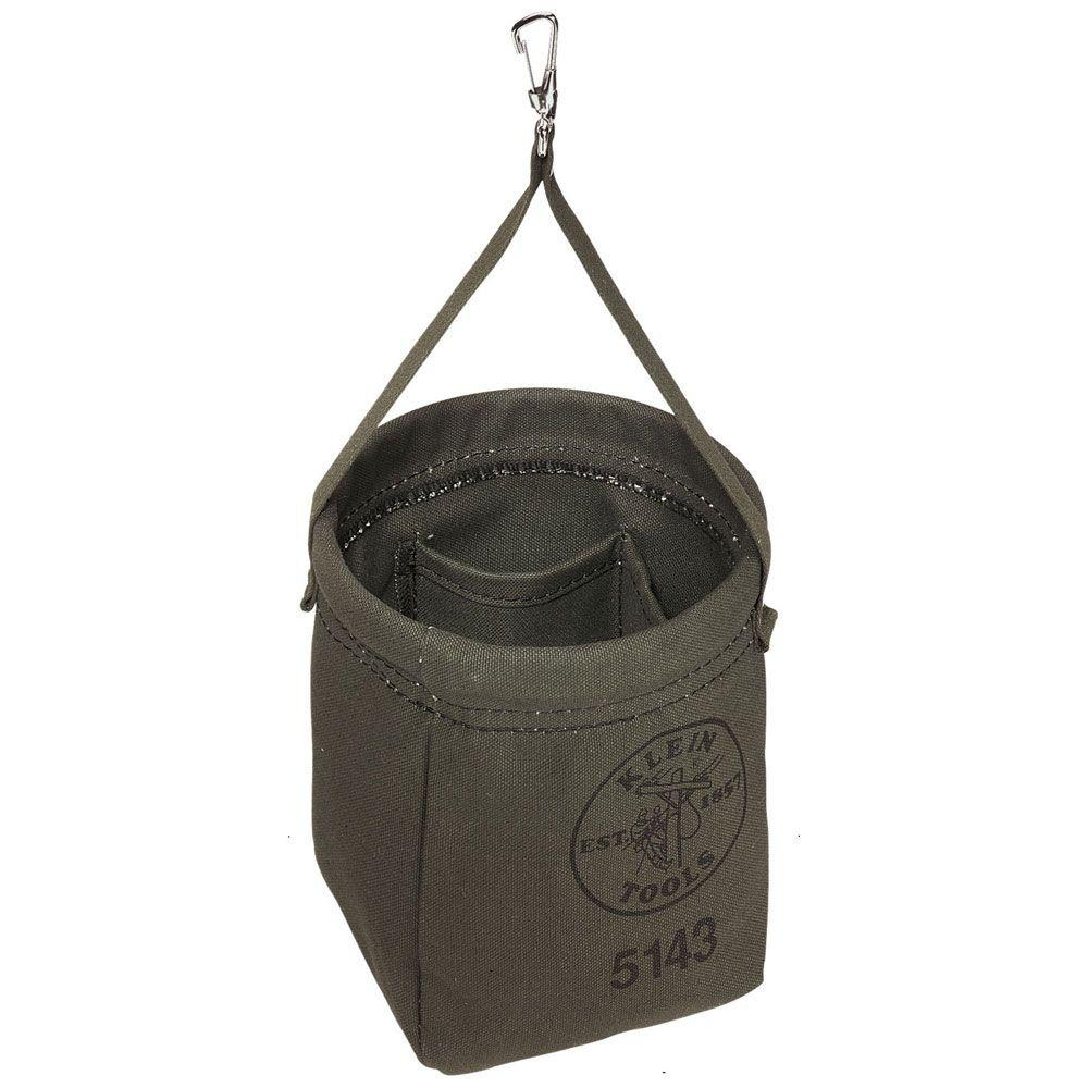Klein Tools 6 5 In Canvas Tapered Bottom Tool Bag