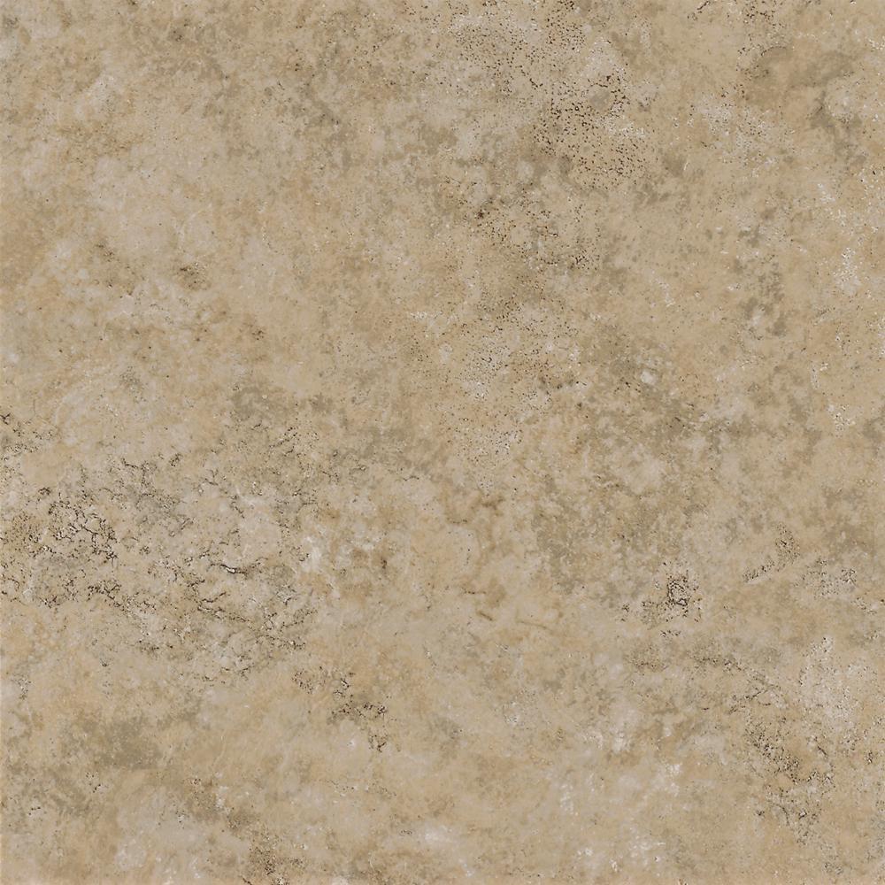 Multistone Sand 12 in. x 12 in. Residential Peel and Stick Vinyl Tile Flooring (45 sq. ft. / case)