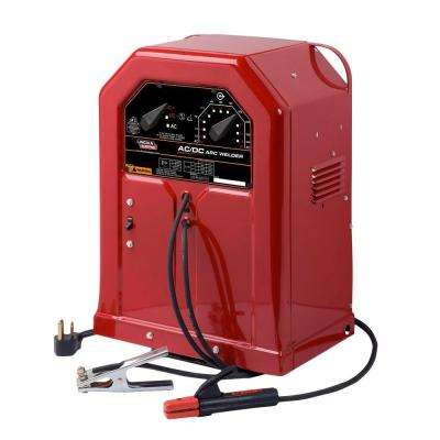 225 Amp AC and 125 Amp DC Arc/Stick Welder AC/DC 225/125, Single Phase, 230V
