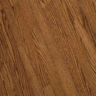 Bayport Oak Gunstock Hardwood Solid Flooring - 5 in. x 7 in. Take Home Sample