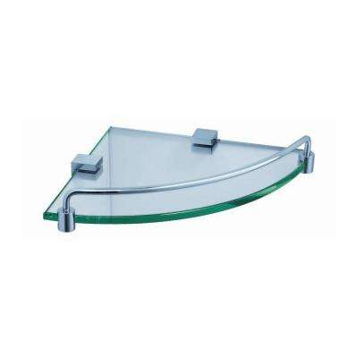 Ottimo 8.5 In. W Corner Glass Shelf ...