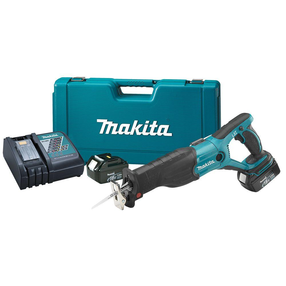 Makita 18-Volt LXT Lithium-Ion Cordless Reciprocating Saw Kit
