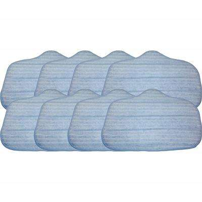 8pk Replacement Microfiber Mop Pads, Fits Steamfast, Washable & Reusable, Compatible with Part A275-020