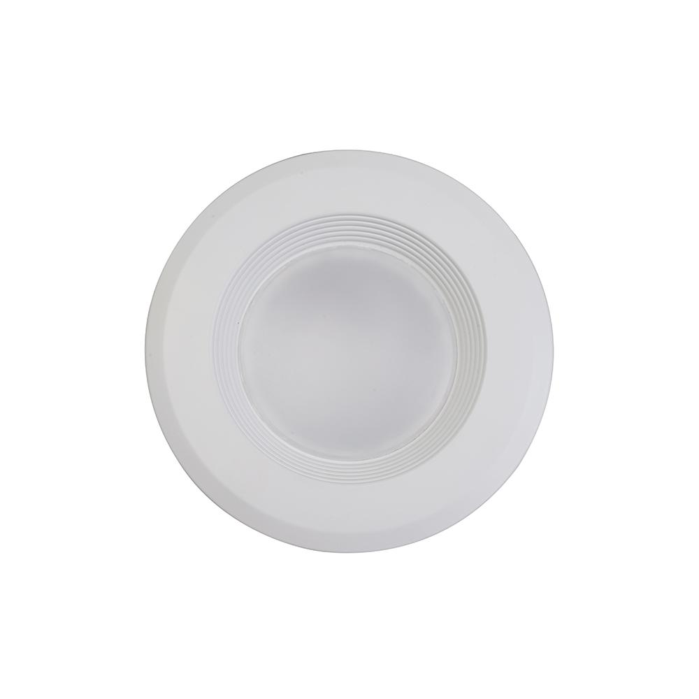 Ellumi Ellumi 5-6 in. White Integrated LED Recessed Ceiling Light Retrofit Remodel Kit with Antibacterial Disinfection Mode, 3000K