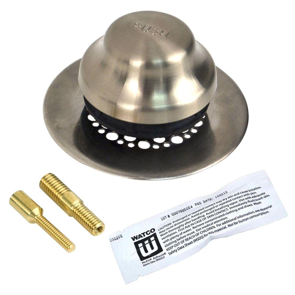 Watco Universal NuFit Foot Actuated Bathtub Stopper