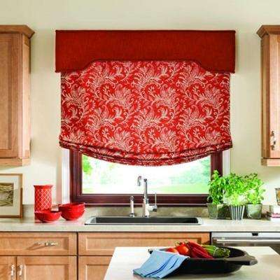 Board Mounted Fabric Valance
