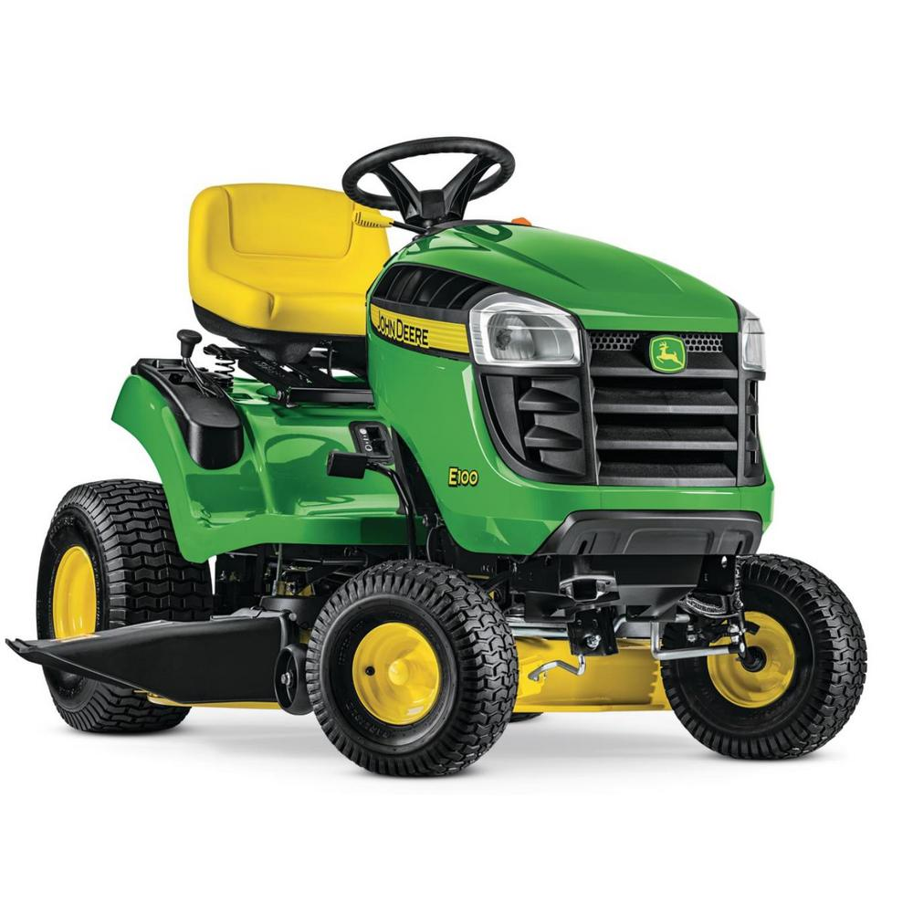 John Deere Lawn Mowers For Sale >> John Deere E100 42 In 17 5 Hp Gas Automatic Lawn Tractor
